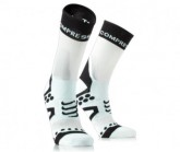 Rad Socke PRS Ultralight Bike High Unisex white/black