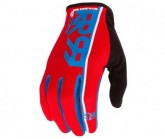 Radhandschuh Core Herren red/sky blue/black