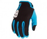 Radhandschuh Quantum Herren black/electric blue
