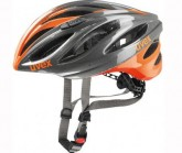 Radhelm Boss Race Unisex grey/neon orange