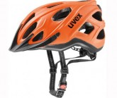 Radhelm City s Unisex neon orange/black mat