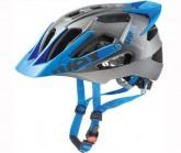 Radhelm Quatro Pro Unisex darksilver/blue mat
