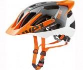 Radhelm Quatro Pro Unisex white/orange mat