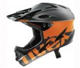 Radhelm hlmt 9 Bike Unisex black/orange