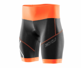 Radhose Compression Cycle Short Damen blk/sbo