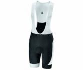 Radhose Proteam Bib Short Herren white/black