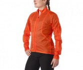 Radjacke Wind Damen glowing red