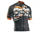 Radtrikot Blade Air Jersey Herren camo/orange fluo