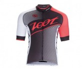 Radtrikot Cycle Team Herren black/race day red