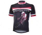 Radtrikot Kurz Hell Rider Herren black