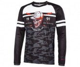 Radtrikot Lang Cycle Spirit Freeride Herren black