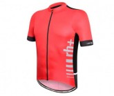 Radtrikot Logo Evo Herren red/black/white