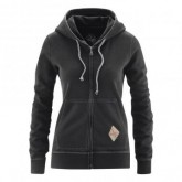 Red Chili Zip Hoodie Voyage Damen Black
