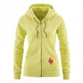 Red Chili Zip Hoodie Voyage Damen Citron