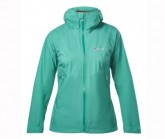 Regenjacke Fastpacking Shell Damen dark green/dark green