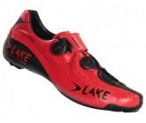 Rennradschuh CX402 Herren rot/schwarz