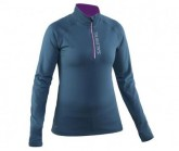 Salming Midlayer Halfzip Damen Storm Blue