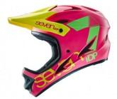 Seven Protection Fullface Radhelm M1 Unisex matt neon pink