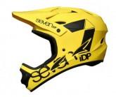 Seven Protection Fullface Radhelm M1 Unisex matt neon yellow
