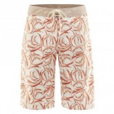 Short Allover Print Tiki Herren white