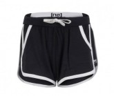 Short Comfort Damen jet black/antique white