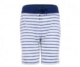 Short Waterfront Bermuda Printed Damen fresh white/fine stripe print