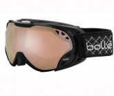 Skibrille Duchees Damen shiny black/citrus gun