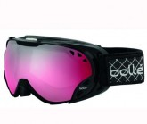 Skibrille Duchees Damen shiny black/vermillion gun
