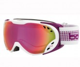 Skibrille Duchees Damen white/plum