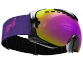 Skibrille Guard L VI Non Violence Unisex matte black
