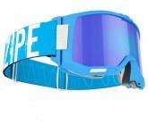 Skibrille Healer L II Unisex matte blue