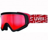Skibrille JAKK TOP Unisex black dl/ltm red