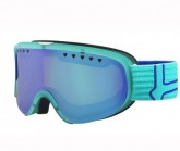 Skibrille Scarlett Damen matte tourquoise/blue modulator