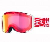 Skibrille Snowstrike Unisex red/white dl/VM red