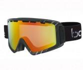 Skibrille Z5 OTG shiny black/white sunrise