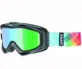 Skibrille g.gl 300 TOP Unisex black mat dl/ltm green