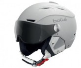 Skihelm Backline Visor soft white/silver