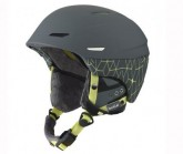 Skihelm Millenium soft grey/yellow iceberg