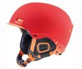 Skihelm hlmt 5 Core Unisex red/orange mat