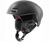 Skihelm jimm octo+ Unisex black mat/black shiny