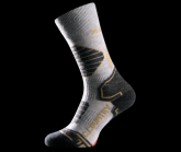 Socke Crosscountry Gold Damen grey