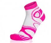 Socke Mountainbike Short unisex weiß/pink