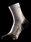 Socke Running Thermo Gold Damen white