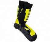 Socken Crew Unisex black/yellow