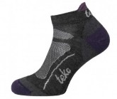 Socken SIN3RGI S3 Light Low TRAIL Damen chacrcoal/aubergine