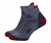 Socken SIN3RGI S3 Light Low TRAIL Herren grey/brick