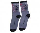 Socken Unisex grey/black