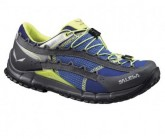 Speedhiking Schuh Speed Ascent Damen spectrum blue/smoke