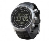 Sportuhr Elementum Terra black rubber/dark display