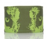 Stirnband Wolf Unisex grün